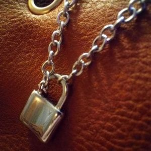 Padlock Necklace Stainless Steel